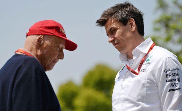 Niki Laudan ja Toto Wolffin välisiä keskusteluita käydään Mercedeksellä tulevinakin vuosina.