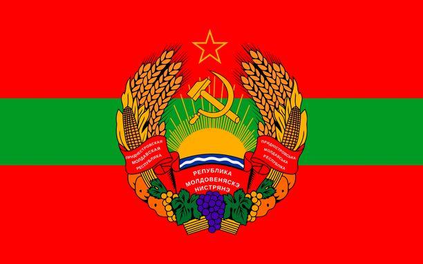 Transnistrian lippu henkii Neuvostoaikoja.