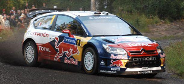 Sebastien Loeb tulee tarjoamaan Mikko Hirvoselle kovan vastuksen Jyväskyläss.