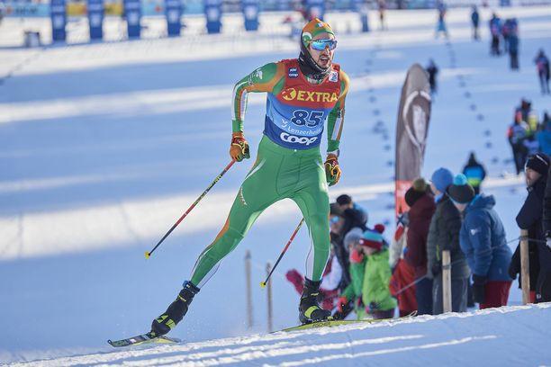 Thomas Maloney Westgård hiihti uransa toistaiseksi parhaan maailmancupin sijoituksen Lahdessa.