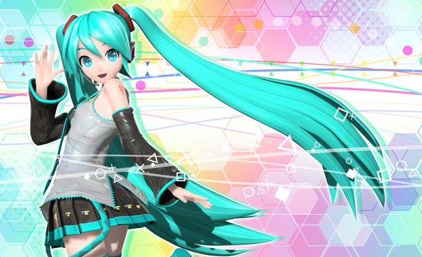 """Hatsune Miku on Japanissa tavattoman suosittu virtuaalinen """"pop-tähti""""."""