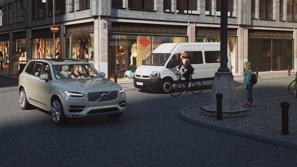 Polkupyöräilijä saa varoituksen kypäräänsä - valo syttyy...