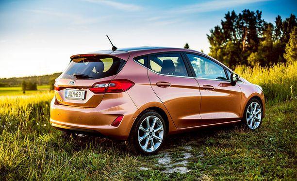 Uusi Ford Fiesta nappasi kärkisijan edullisten autojen kategoriassa.