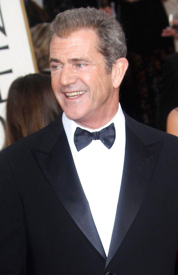 Näyttelijä Mel Gibson Golden Globe -gaalassa vuonna 2013.