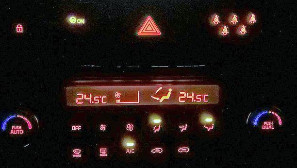 Ilmastointilaitteistokin pitää aika ajoin huoltaa. Silloin automaatti8-ilmastointikin toimii.