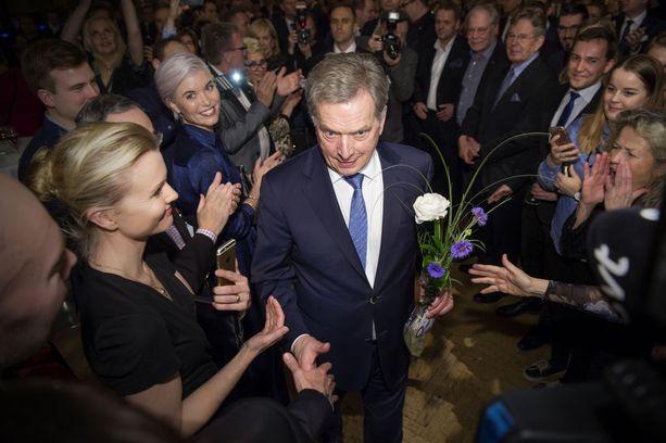 Sauli Niinistö voitti presidentinvaalit ylivoimaisesti viime sunnuntaina.