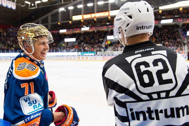 Kristian Kuusela on 2000-luvun vakionäky SM-liigan pudotuspeleissä ja jopa finaaleissa.