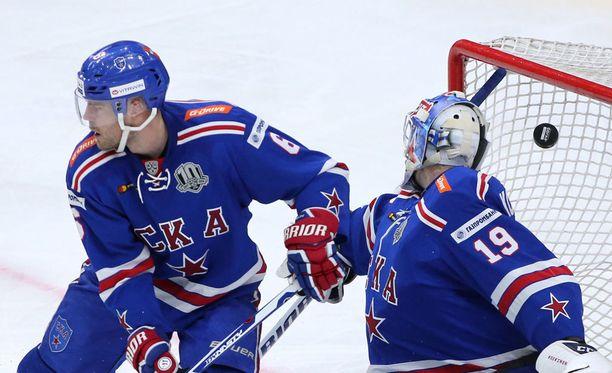 SKA hävisi viimein tällä KHL-kaudella.