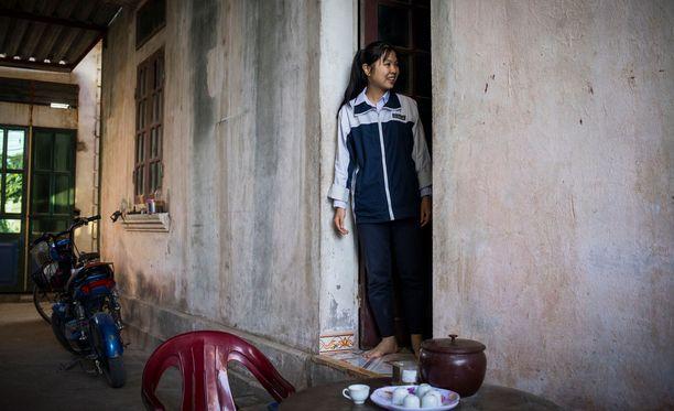 Sanavalmis ja fiksu lukiolainen Goc, 16, kertoo haluavansa isona suurlähettilääksi.
