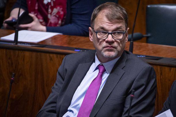 Kansanedustaja Juha Sipilä (kesk) toimi pääministerinä vuosina 2015–2019.
