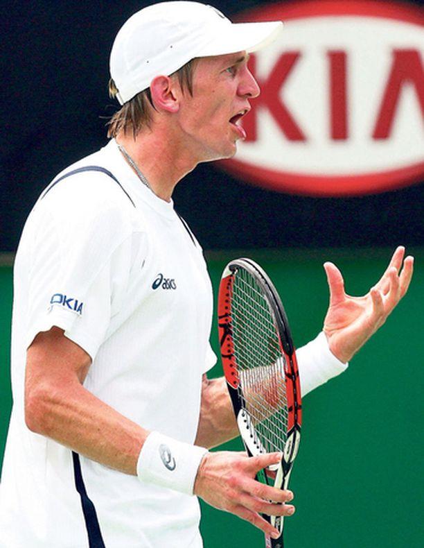 EI NÄIN Tappio Australian avointen toisella kierroksella tietää hallaa Jarkko Niemisen rankingsijoitukselle.