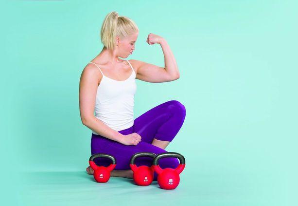 Lihasten treenaaminen on sekä ulkonäön että yleisen hyvinvoinnin ja jaksamisen kannalta parempi vaihtoehto kuin pika- ja ihmedieetit. Jos kuntosali ei nappaa, kokeile kehonpainotreeniä.