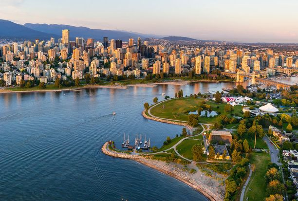 Länsirannikon Vancouver on hyvä tukikohta luontomatkailuun.