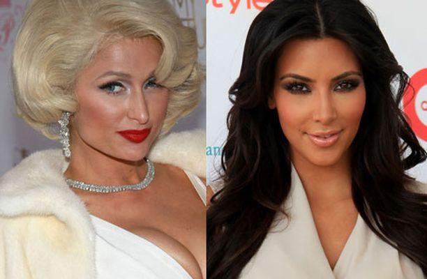 Paris Hiltonia ja Kim Kardashiania ei enää nähdä juhlimassa yhdessä. Julkisuushakuisten naisten välille kertyi liikaa mustasukkaisuutta.