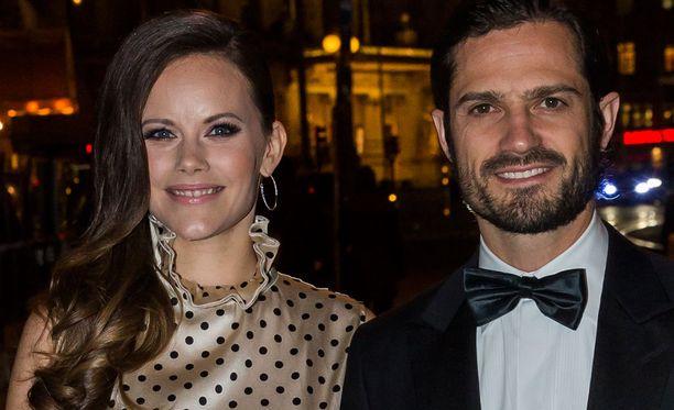 Prinsessa Sofia edusti perjantaina ensimmäisen kerran prinssi Gabrielin syntymän jälkeen.