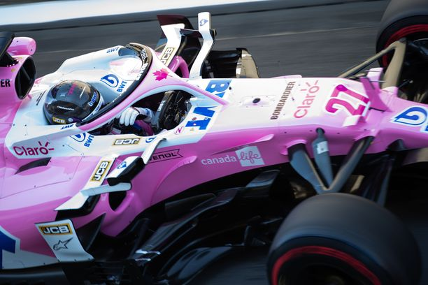 Nico Hülkenberg teki paluun F1-kuskiksi.