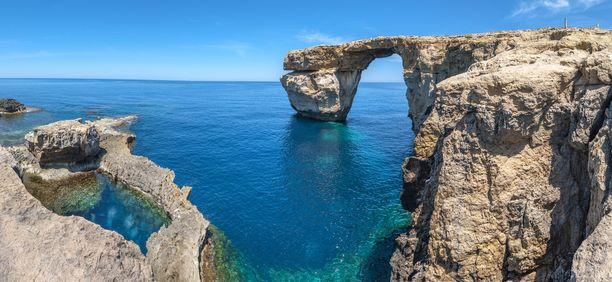 Maltan kuuluisa kalkkikivikaari on tuhoutunut.