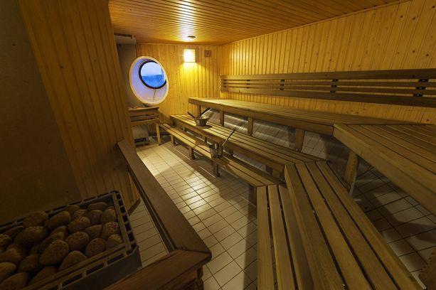 Viking Amorellan sauna.