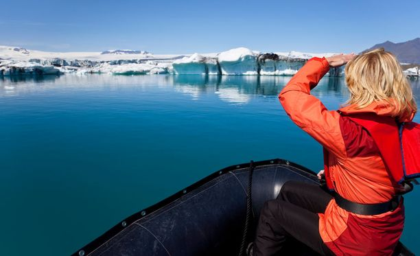 Islannin jäätiköt ovat Euroopan suurimmat.