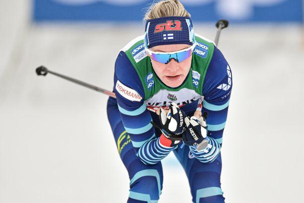 Anne Kyllösellä oli kovat odotukset yhdistelmäkisaan. Tulos ei kuitenkaan ollut niiden mukainen.