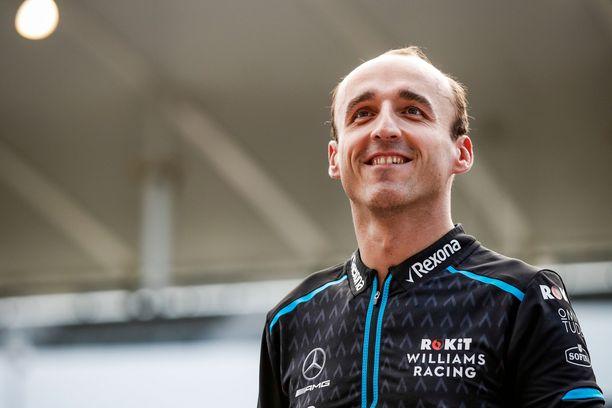 Robert Kubica hyppäsi vuoden alusta Alfa Romeo -haalareihin.