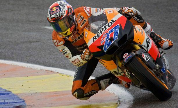Casey Stoner on varmistanut MotoGP-luokan mestaruuden.