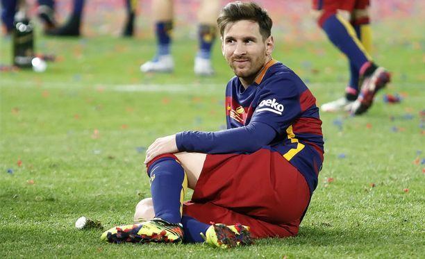 Lionel Messi ei saanut juurikaan tukea Barcelonan some-kampanjassa.