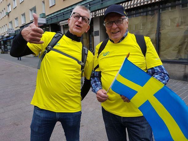 Bengt ja Owe pitivät tärkeänä, että vuodesta 1925 käytyjä maaotteluita jatketaan.