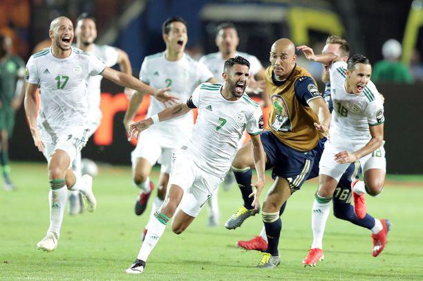 Algeria voitti Afrikan mestaruuden viime viikolla.