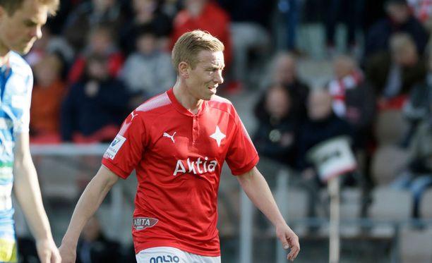 HIFK:n Mikael Forssell kohtaa HJK:n 23. toukokuuta.