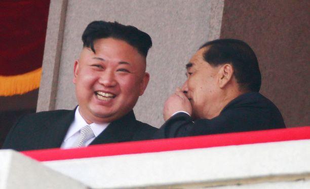 Pohjois-Korean diktaattori nautti perheensä diktatuurin 105-vuotispäivästä.