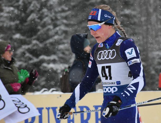Anne Kyllönen onnistui keskiviikkona Saksassa.