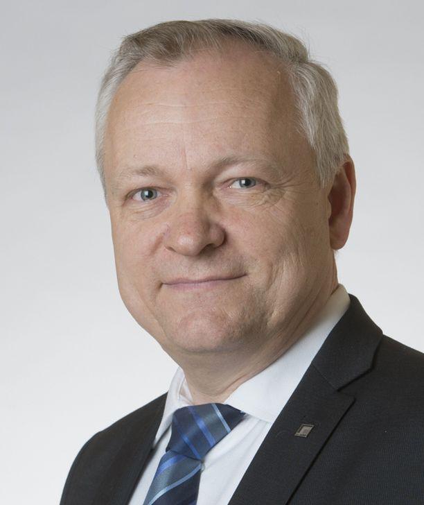 Kokoomuksen kansanedustaja Kalle Jokinen.