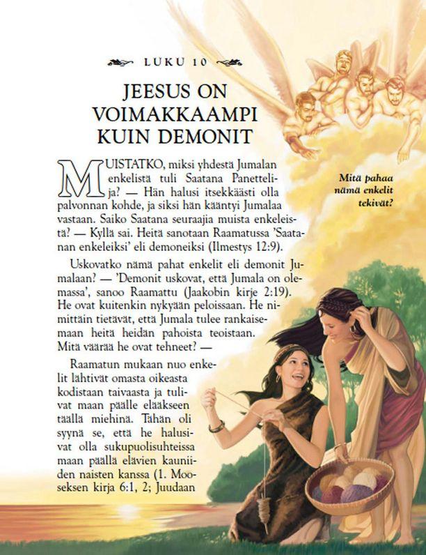 Avioliiton ulkopuoliset sukupuolisuhteet rinnastetaan Opimme Suurelta Opettajalta -kirjassa Saatanan enkeleiden kanssa ilotteluun.