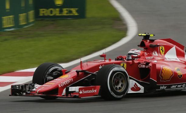 Kimi Räikkönen sai lähtöruuturangaistuksen.