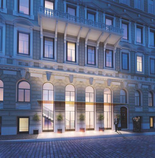 Historiallinen rakennus saa uuden elämän St. George -luksushotellina.