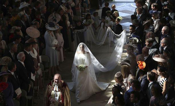 Meghan Markle asteli toukokuussa alttarille samassa kirkossa, missä Eugenie avioituu lokakuussa.
