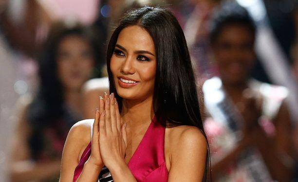 Chalita Suansane sijoittui Miss Universum -kilpailuissa vastikään kuudenneksi.