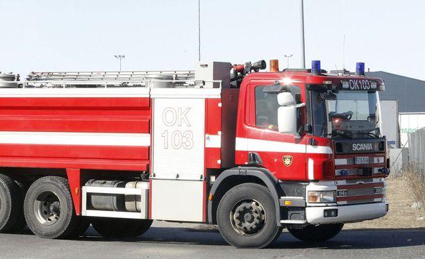 Pelastuslaitos sai ilmoituksen tulipalosta Sodankylän Auringonnousulla aamuyöllä 13.8. kello 02:40. Kuvituskuva.