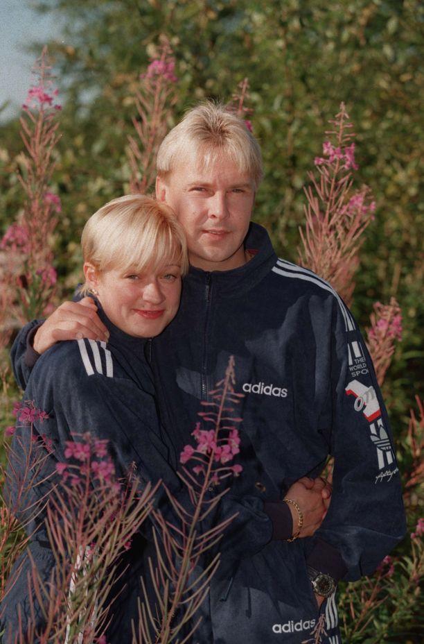 Sari Pyysalo ja Matti olivat pari vuotta yhdessä.