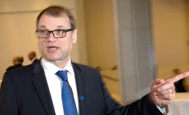 Pääministeri Juha Sipilä (kesk) muistuttaa, että puolueiden välillä tehty hallitusohjelma on aina kompromissi.
