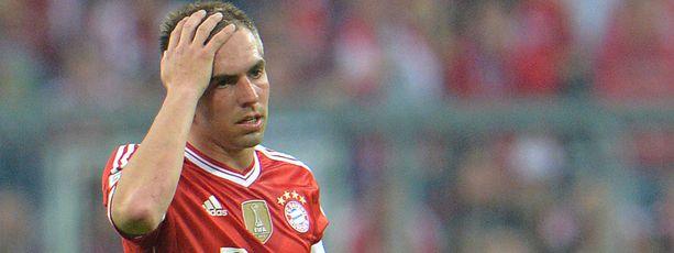 Philipp Lahmia otti päähän.