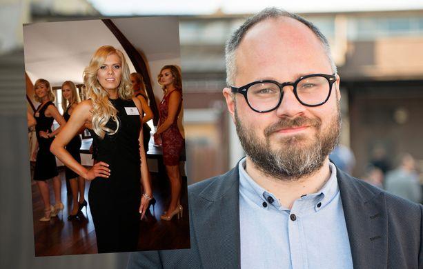 Eveliina Tikka vahvistaa, että tapailee Tuomas Enbuskea.