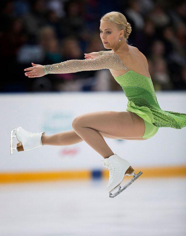 Finlandia Trophy Espoossa 2012, naisten lyhytohjelma.