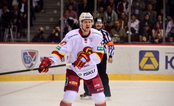 Ville Lajunen palaa Jokerien kokoonpanoon Pietarissa.