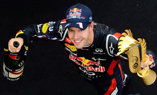 Sebastian Vettel voitti Etelä-Korean GP:n.