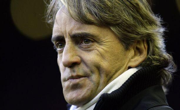 Roberto Mancinia pännii.