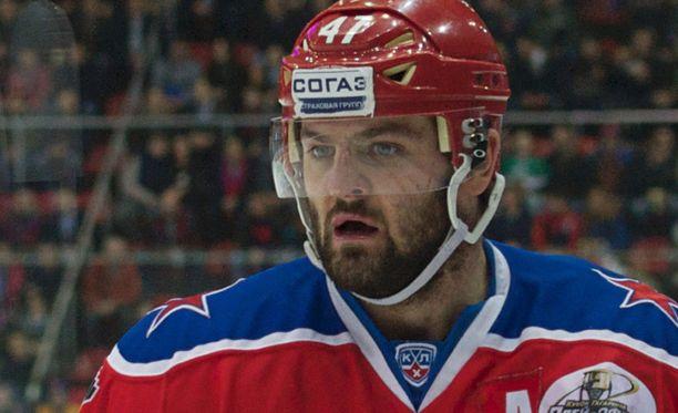 Aleksander Radulovilta jäi MM-kisat väliin loukkaantumisen vuoksi.