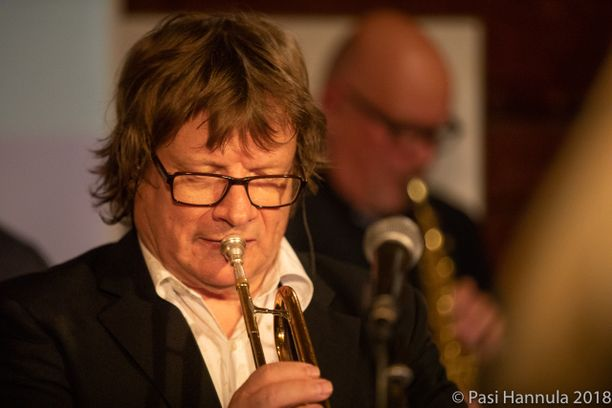 Hannu Petterssonin instrumentti oli trumpetti.