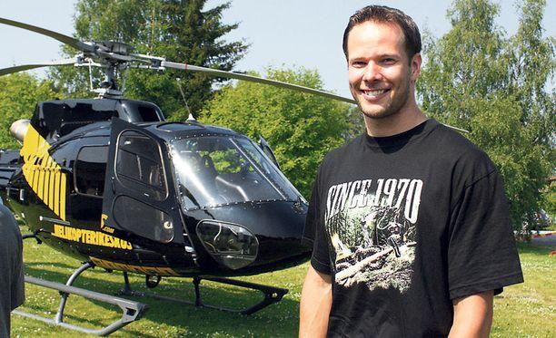 Pitkämäki liiteli helikopterille, mutta ei saanut keihästä lentoon.